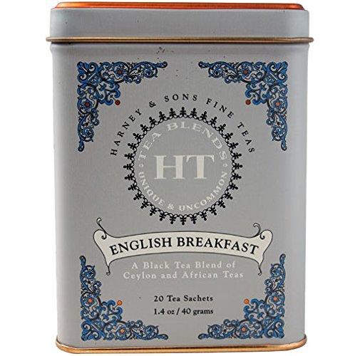 Harney & Sons Black Tea English Breakfast - 20 Tea Bags ハーニー&サンズ ブラックティー イングリッシュブレックファスト