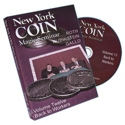 Murphy's Magic New York Coin Seminar Volume 12 Back to Workers DVD