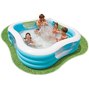 intex swim center inflatable family swimming pool 57495ep toys games