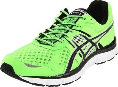 ASICS Men's GEL-Blur33 Running Shoe,Apple Green/Black/White,13 M US