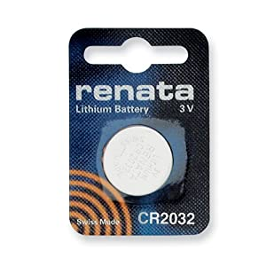 Single Type CR2032 Renata Swiss Lithium Battery