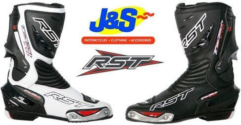 Rst Tractech Evo Motorcycle Sports Boots Motorbike Track Day Racing Boot Black Euro 43 / UK 9 J&s