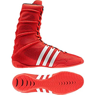 Adidas Adipower Boxing Shoes Red