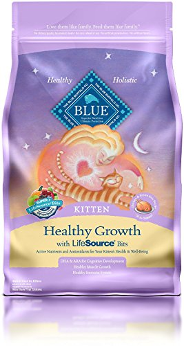 BLUE Buffalo Healthy Growth Chicken & Brown Rice Recipe For Kittens