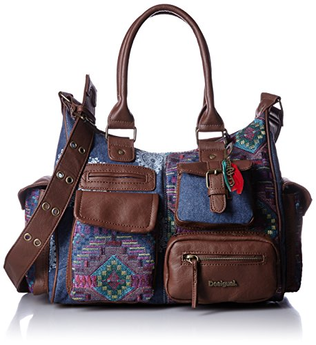 Desigual Tasche - London Medium African Art - Jeans thumbnail