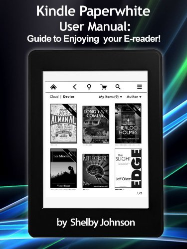 Amazon KINDLE PAPERWHITE User's Manual - ManualAgent
