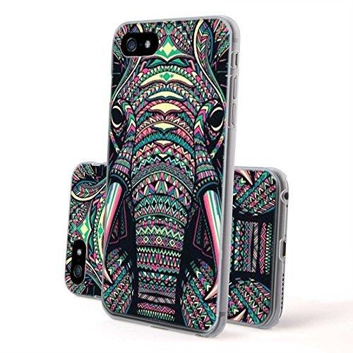 FINOO--Iphone-6-6S-Hardcase-Handy-Hlle-Transparente-Hart-Back-Cover-Schale-mit-Motiv-Muster-Tasche-Case-mit-Ultra-Slim-Rundum-schutz-stofestes-dnnes-Bumper-Etui