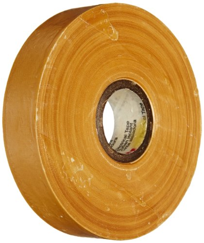 "Scotch Electrical Insulating Varnished Cambric Tape 2510, 3/4"" Width, 36 Yard Length (Pack Of 1)"
