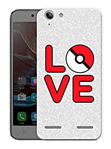 "Cartoon Love Printed Designer Mobile Back Cover For ""Lenovo Vibe K5 - K5 Plus"" By Humor Gang (3D, Matte Finish, Premium Quality, Protective Snap On Slim Hard Phone Case, Multi Color)"