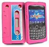 Accessory Master Hard Case for Blackberry Curve 9320 Cassette Design Black