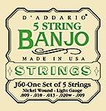 ◎D'Addarioダダリオ バンジョー弦J60 1セット