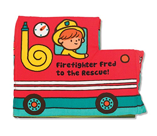 Melissa & Doug Firefighter Fred to The Rescue Soft Activity Book - 1