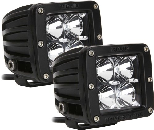 Rigid Industries 20212 Dually Amber Floodlight, (Set Of 2) front-52041