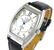 buy Winner Men'S Automatic Mechanical Oval Dial Leather Strap Self Wind Auto Date Wrist Watch