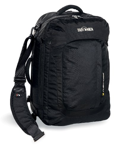 Tatonka Flight Case Carry On Travel Rucksack Black