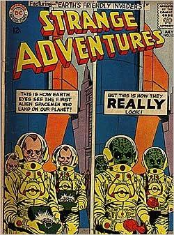 Amazon.com: Strange Adventures (1950 series) #154: DC