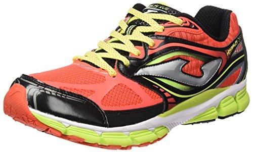 Joma Uomo R.hispalis 607 Coral-negro scarpe da corsa Size: 43