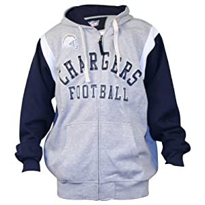 NFL Classic Team Color Full Zip Hoodie by NFL