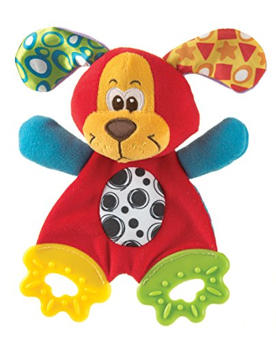 Playgro Pookie Puppy Teething Blankie for Baby