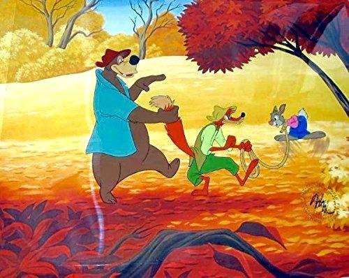 Disney Song Of The South Cel Brer Fox Rabbit Brer Bear THE ...