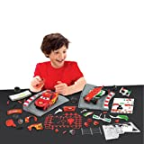 Klip Kitz Disney Pixar Cars 2 Race to the Finish Francessco & Lightning McQueen Line Kit Kids Gift Xmas New