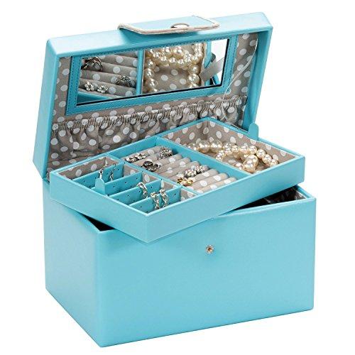 mele-co-mia-joyero-grande-con-revestimiento-gris-de-lunares-y-exterior-de-color-azul