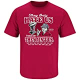 Alabama Crimson Tide Fans. They Hate Us Cause They Ain't Us Crimson T-Shirt (S-5X)