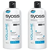 SYOSS by Schwarzkopf Volume Lift Conditioner for Limp Hair 500 ml (Pack Of 2)