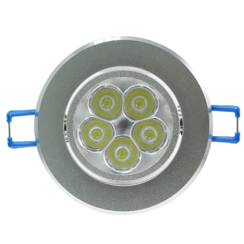 Green House® Dimmable Cold White 15W(5*3W) Recessed Cabinet Led Ceiling Downlight /Lamp/ Bulb /Spotlight 100V-245V For Outdoor/Indoor Illumination
