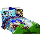Sega Sonic The Hedgehog Sonic Speed Twin Sheet Set