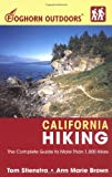 Image of Foghorn Outdoors California Hiking: The Complete Guide to More Than 1,000 Hikes