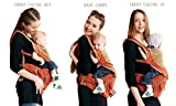 Hip Seat Baby Carrier On clearane by Bebamour-Advanced Lumbar Support, 3 months+,Orange