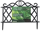 STYLISH GARDEN BORDER LAWN EDGING FENCE 36CM TALL Reviews