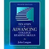 Ten Steps to Advancing College Reading Skills, Levels 9-13, Instructor's Edition (Townsend Press Reading Series...