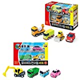 Little Bus Tayo Friends Special Mini Car Toy 8 pcs Set ( Ver.2 + Ver.3) Truck Mixer