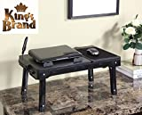 Kings Brand Multifunctional Laptop Table Stand With Cooling Fan & USB Ports