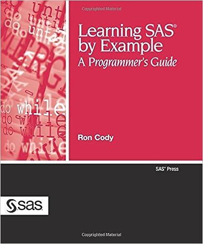 Time to learn SAS with Free SAS University Edition & Ron