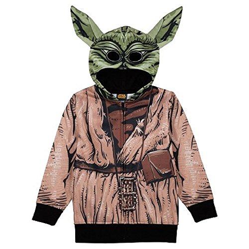 Boys Star Wars Yoda Hoodie Size 4