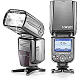 Neewer NW-985C E-TTL 4-Color TFT Screen Display Slave Flash Speedlite With Flash Diffuser For Select Canon EOS...