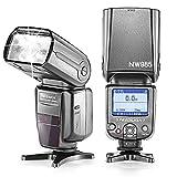 Neewer® nw985C 4colori TFT Display ad alta velocità sincronizzazione flash E-TTL macchina fotografica Flash per Canon T5i T4i T3i T3T2i T1i SL1, EOS 700d 650d 600d 1100d 550d 500d 100d 400d 450d 20d 30d 60d 5d Mark III 5d Mark II e tutte le altre Fotocamere Reflex Canon