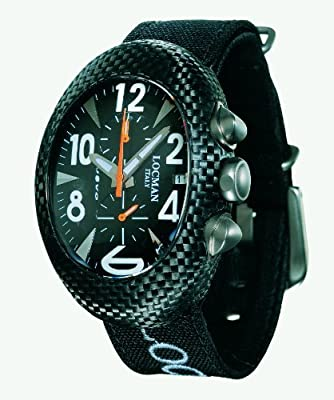 Locman Nuovo Carbonio Oversize Men's Watch