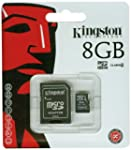 Kingston 8GB Micro SD HC - Class 4