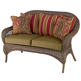 Smith And Hawken Outdoor Sofa Amp Loveseat In Wicker From