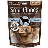 SmartBones Peanut Butter Dog Chew, Mini, 24-count-14 oz
