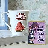 Daddy Mug-Mug 1, Fathers Day Tag 1, mugs for fathers day, ceramic mugs for fathers day, gifts for fathers day, fathers day gifts from daughter, fathers day gifts from son, fathers day gifts from kids, fathers day gifts, birthday gifts for father, birthday gifts for dad, coffee mugs for father, Conical Coffee Mug-GIFTS111706
