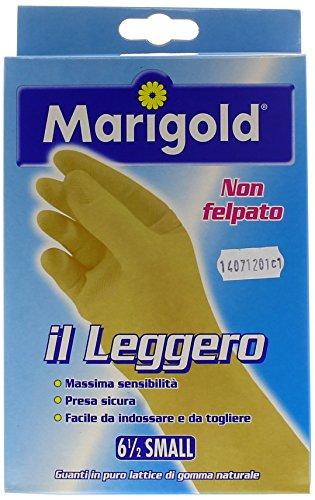 Marigold 145034 Guanto Il Leggero, non felpato dalla massima sensibilità, zigrinatura antiscivolo, facile da mettere e da togliere