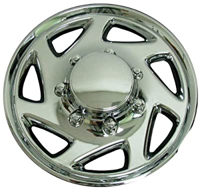 CCI IWC9415C 15 Inch Clip On Chrome Finish Hubcaps - Pack of 4