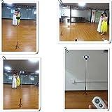 Meiego Self-timer Extendable Handheld Monopod + Bluetooth Remote Control Camera Shutter + Cellphone Smartphone Tripod Mount Holder+Tripod Mount For Gopro Hero 1/2/3+Mini Adjustable Tripod Black