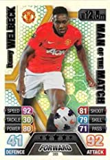 Match Attax 2013/2014 Danny Welbeck Manchester United 13/14 Man Of The Match