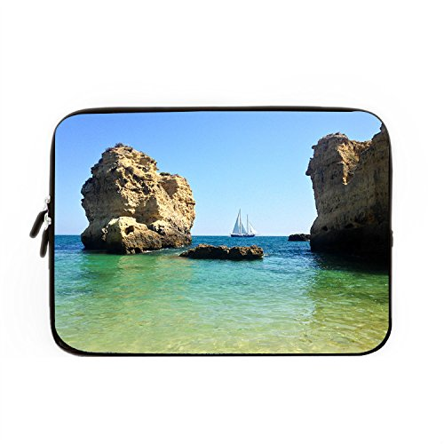 hugpillows-laptop-sleeve-bag-sun-cliff-sea-boat-sailboat-rock-notebook-sleeve-cases-with-zipper-for-
